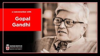 Gopalkrishna Gandhi — Gandhi: His life in his words beyond 'The Story'