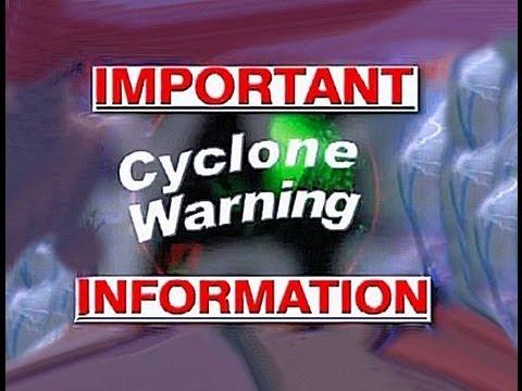 Emergency Cyclone Warning Broadcast Youtube