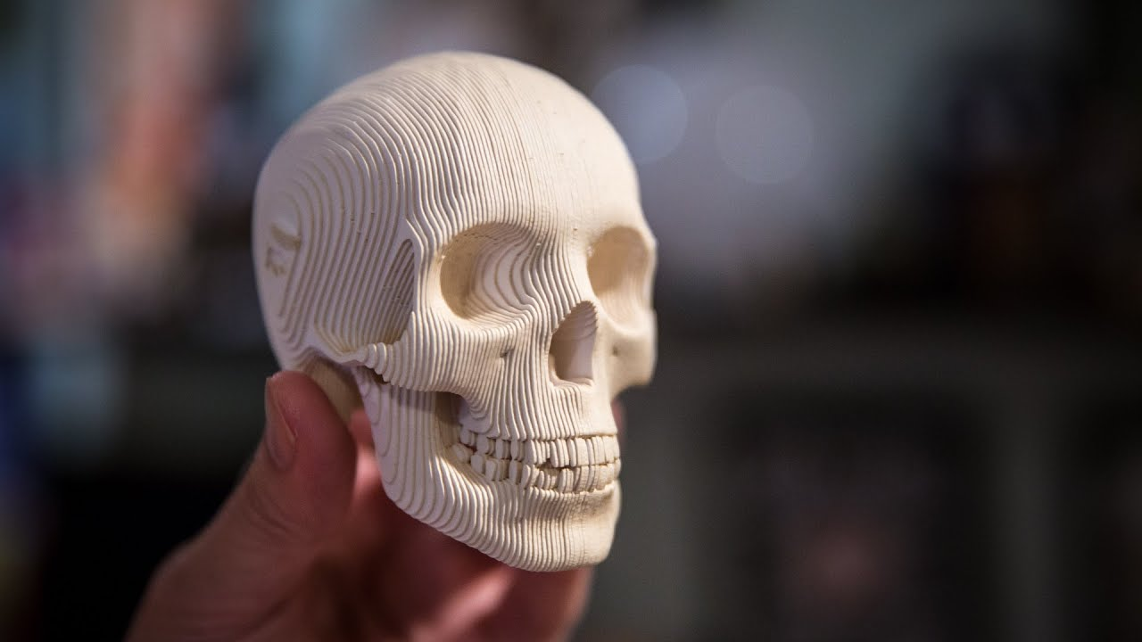 Papercraft Show and Tell: Papercraft Skull Kit