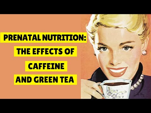 Prenatal Nutrition The Effects Of Caffeine and Green Tea. ❤️🤰👶👪