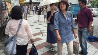 Walking around Shibuya Tokyu Hands through Spain Zaka in Tokyo, Japan
