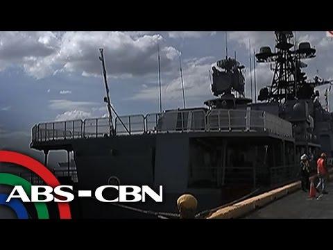 TV Patrol: Russian Navy, ipinasilip sa mga Pinoy ang kanilang barkong pandigma