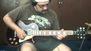 No One to Depend On - Santana - guitar cover piri