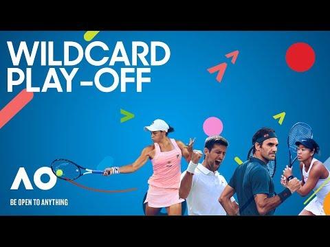 Australian Open 2020 Wildcard Play-Off Day 4 Court 8