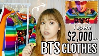 I Spent OVER $2,000 on BTS Clothes!