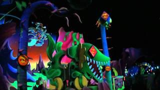 Tokyo Disney Land ☆Buzz Lightyear Astro Blasters☆ Front row onride ...