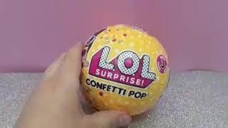 Abrindo L.O.L confetti pop wave 2-Manuela Tiozzo