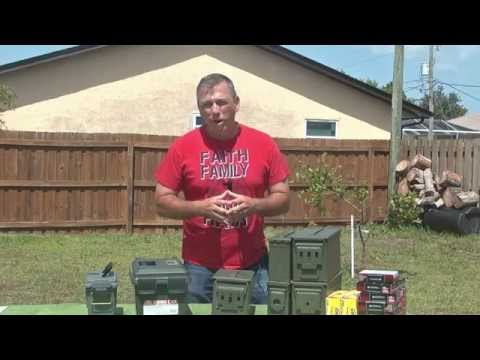 Long-Term Ammo Storage - Best Practises, Metal Ammo Cans