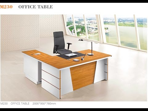 M230 Executive Desk Assembly