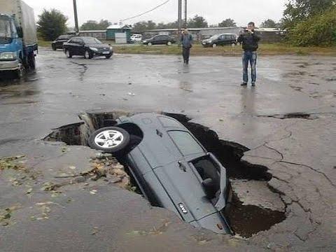 ДТП приколы на дороге - video-