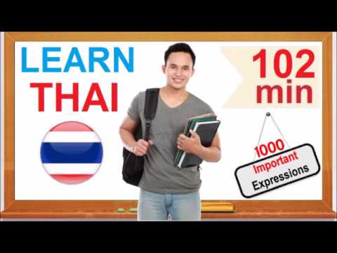 Learn Thai - Common Words & Expressions