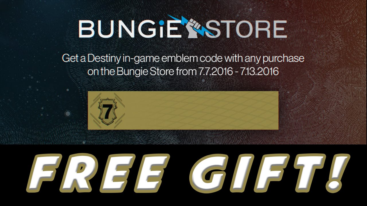 Destiny: The Taken King - Free Exclusive Emblem! 7-7 AD INFINITUM