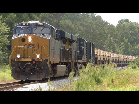 [3L] Monster Train with Military Tanks for the Middle East, Hull - Carlton GA, 08/19/2016 ©mbmars01