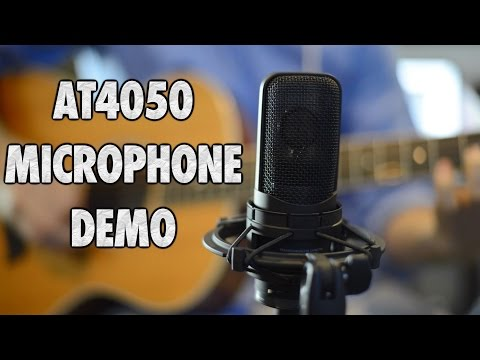 Audio Technica AT4050 Microphone Demo