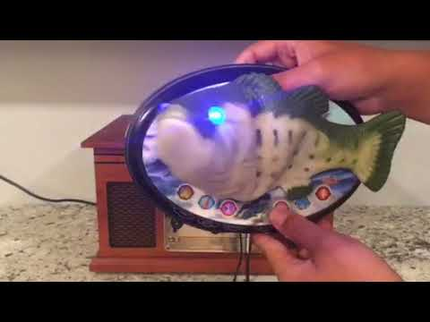 Chinese interactive singing fish (speaker mod)