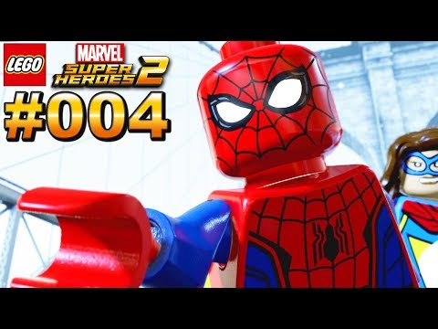 LEGO MARVEL SUPER HEROES 2 #004 Spider man rettet New York [Deutsch]