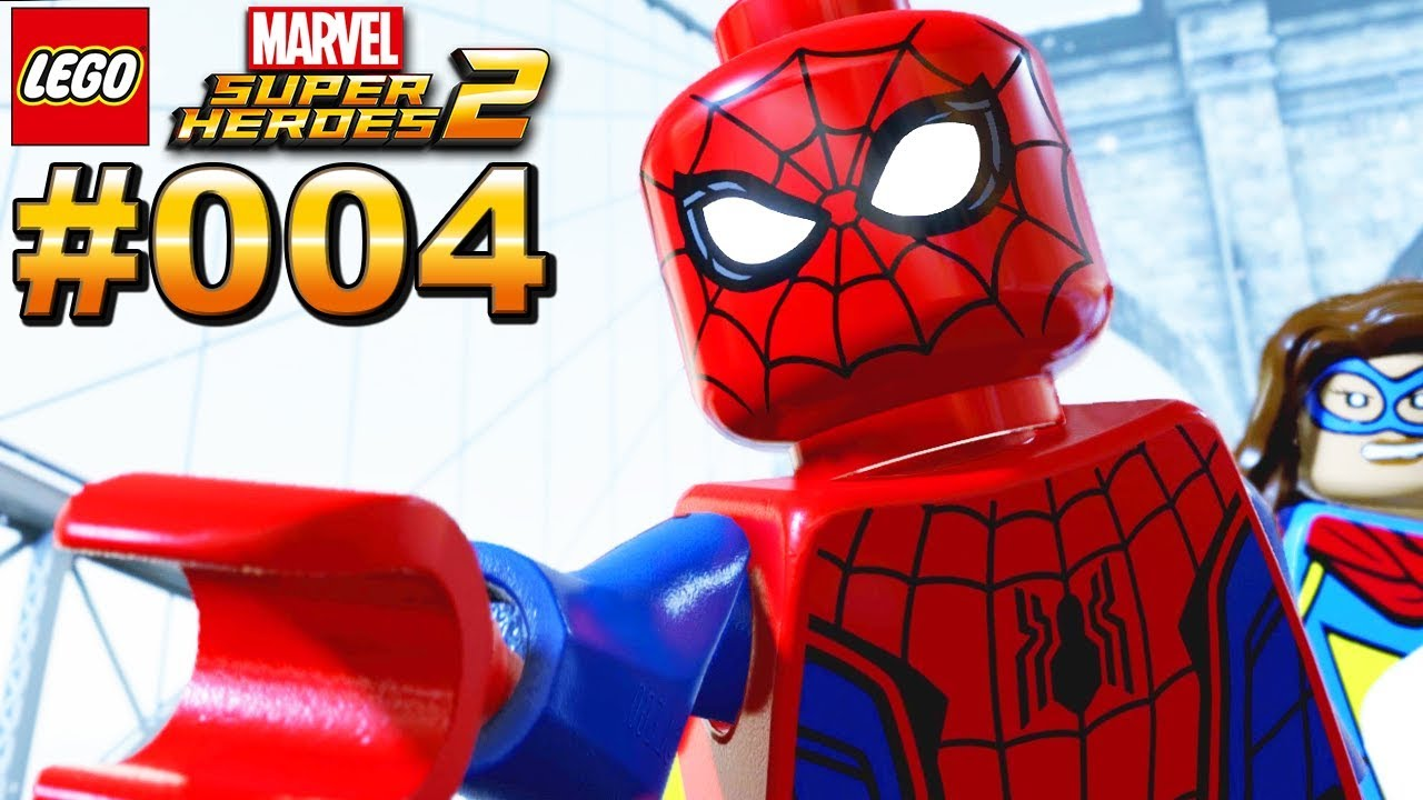 Lego Spiderman Deutsch