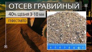Песок из отсевов дробления 40% фракции щебня 3-10 мм. Отсев дробления ГОСТ 8267-93 МСК МО.(, 2017-01-13T14:34:39.000Z)