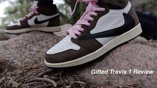 UAPLG Travis Scott Jordan 1 Unbox Review Comparison On-Foot