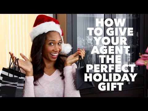 How To Give Your Agent The Perfect Holiday Gift  Acting Resource Guru
