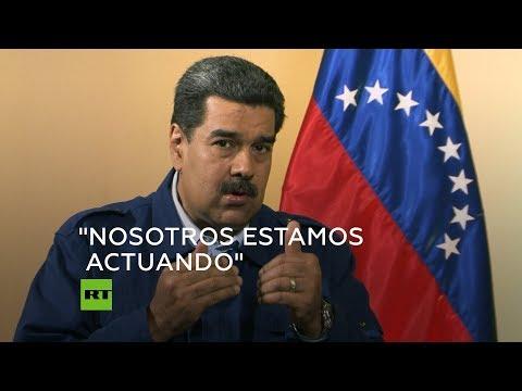 Maduro comenta la congelación de las cuentas de Citgo