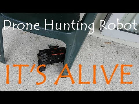 Drone Hunting Robot Gate: Robot Testing