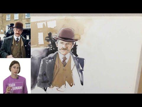 Школа рисования Вероники Калачевой