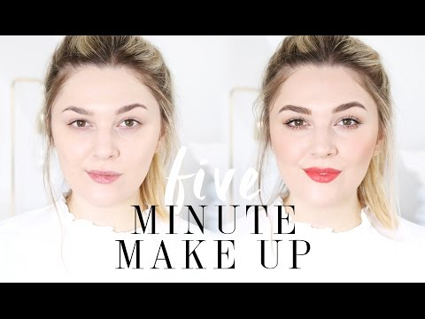 How To Do Your Makeup In Five Minutes | I Covet Thee