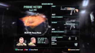Call of Duty: Black Ops 2 Campaign Veteran Playthrough Part[1]: Not So Hard