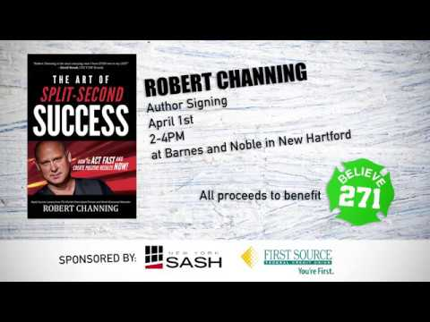 Robert Channing | World's Greatest Mentalist, Glitter Speed Painter, and Author