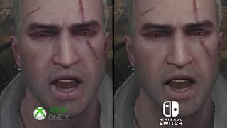 XONE X vs. SWITCH | Witcher 3: Wild Hunt - Complete Edition | Graphics Comparison | 4K 60fps