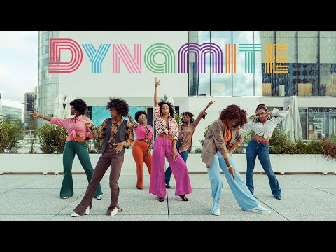 [ DANCE IN PARIS /SOUL TRAIN ver. ] BTS (방탄소년단) - DYNAMITE Dance cover by RISIN' from France