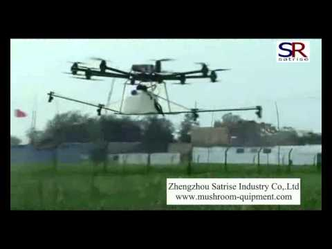 unmanned plant protection spray machine