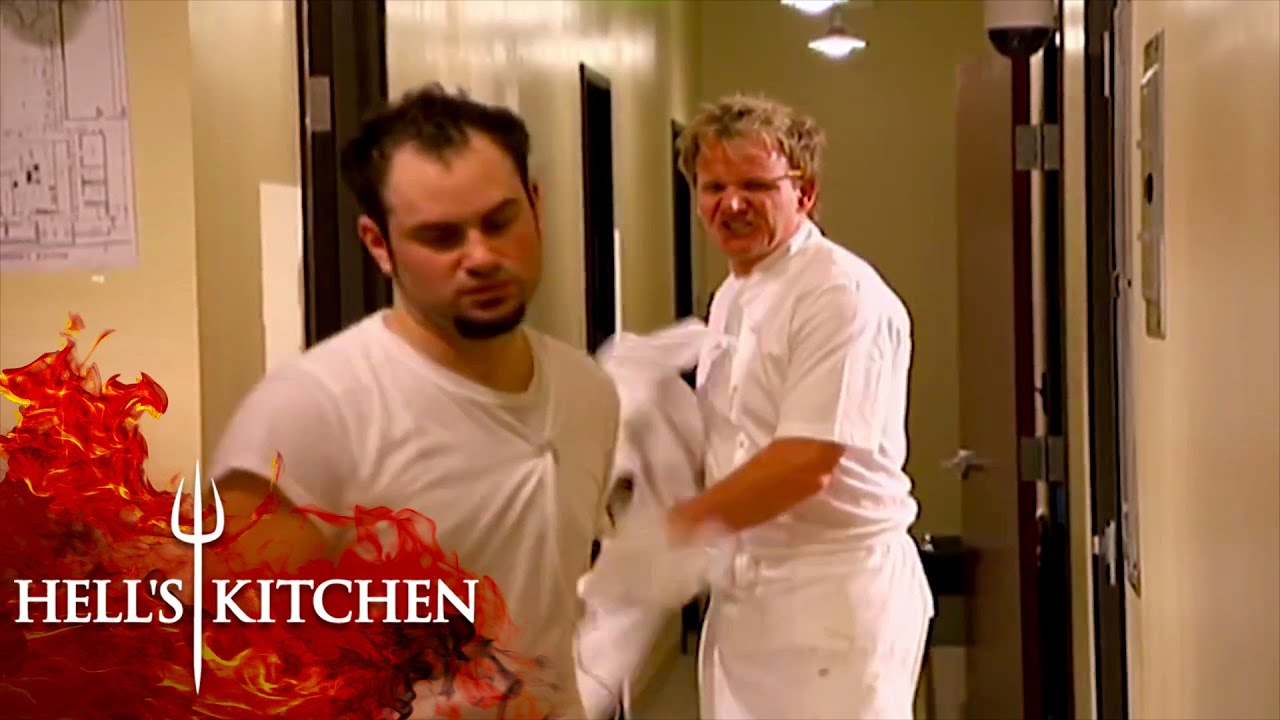 Josh Gets Kicked Out of  Hell's Kitchen