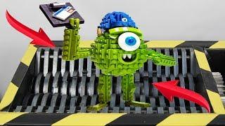 Experiment Shredding Lego Bricks And Toys | The Crusher