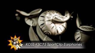 KOSS KSC75 Earphone Review
