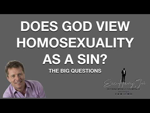 Big questions homosexuality