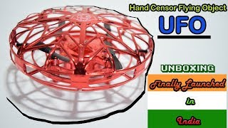 Kids Flying Ufo Induction with Hand Sensor | Unboxing and Review | New Toy 2019
