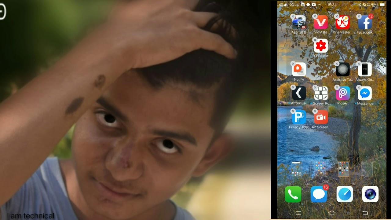 HOW to hide apps in VIVO v7 plus in Hindi #vivo phones
