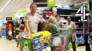 Doing The Weekly Grocery Shop For 20 Kids | 20 Kids And Counting