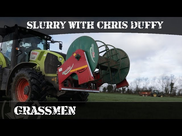 First episode of slurry of the year... in a Claas 810!