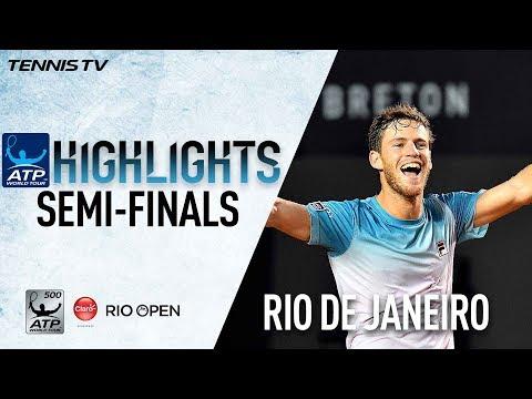 Highlights: Schwartzman Verdasco Book Rio Final Berths