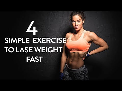 4 Simple Exercise To Lose Weight Fast