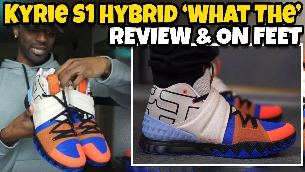da7b6099f26d NIKE KYRIE S1 HYBRID WHAT THE REVIEW   ON FOOT - YouTube