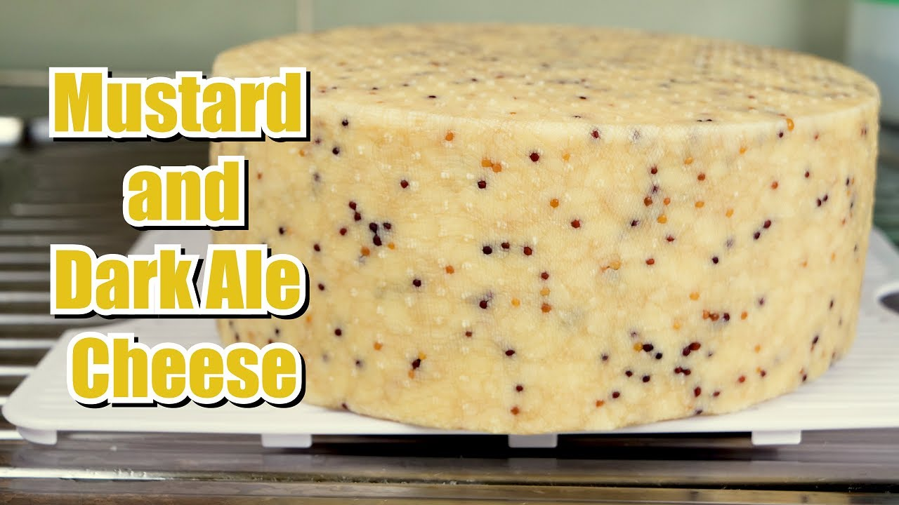 How to Make Mustard and Dark Ale Cheese