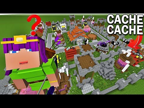 CACHE CACHE CLASH OF CLANS ! | Minecraft !