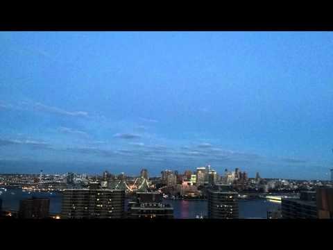 iOS8 Timelapse of the New York City Fireworks