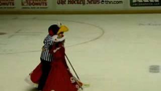 2010 ahl mascot hockey part one