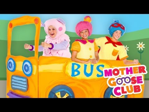 Thumbnail: The Wheels on the Bus Go Round and Round - Mother Goose Club Songs for Children