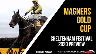 GOLD CUP PREVIEW (FRIDAY - CHELTENHAM FESTIVAL 2020)